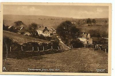 northern ireland postcard ulster irish tyrone general view of donemana village