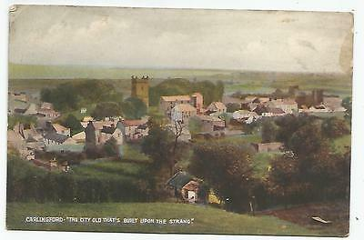 irish postcard ireland louth carlingford