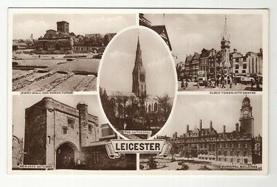 england leicestershire postcard english leicester