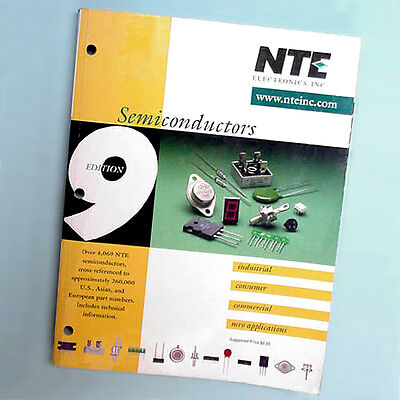 NTE Semiconductor Cross-Reference Manual, 9th Edition, 1999