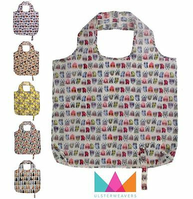 Ulster Weavers Packable Re-usable Shopping Bag in Various Designs