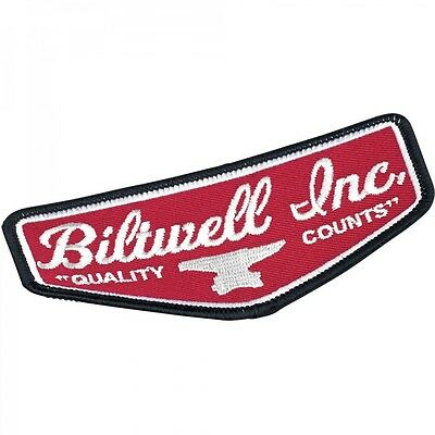 Parche Shield Patch - Black/Red/White Biltwell
