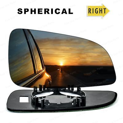 Right Off Side Convex Wing mirror glass for Vauxhall Astra H 2004-2008