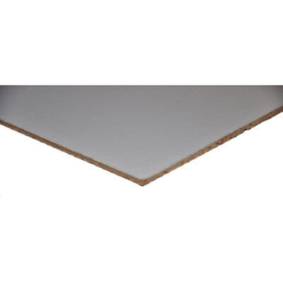 "White Faced Hardboard 3mm 1220mm x 1520mm (48""x60"") DIY project etc"