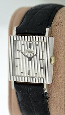Patek Philippe Vintage 3467G RARE 18k White Gold 26mm ladies watch.