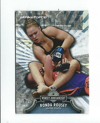 2012 Topps UFC Bloodlines #150 Ronda Rousey Rookie RC