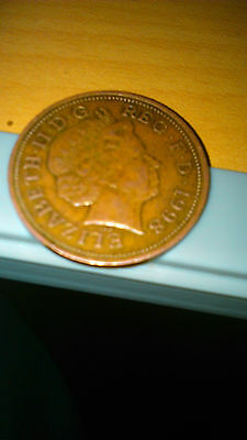 1998 Very Rare Circulated 2p Two Pence Bronze (Non Magnetic coin) - Read Details