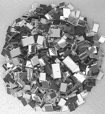 YK * 100grms MOSAIC  MIRROR  GLASS  PIECES  *  VARIOUS SIZES 3mm Thick