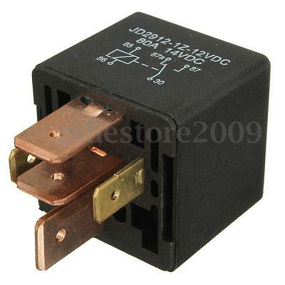 12V 5 Pin Automotive Relay 80A AMP Waterproof Van Boat Spotlight Changeover New