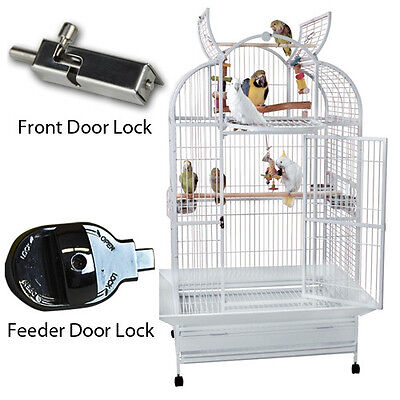 SLT 4032 KINGS CAGES LARGE TRIPLE TOP PARROT CAGE bird toy toys amazons macaws