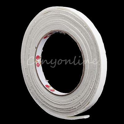 5M Double-Side Self Adhesive Foam Strip Weather Draught Excluder Door Roll Tape