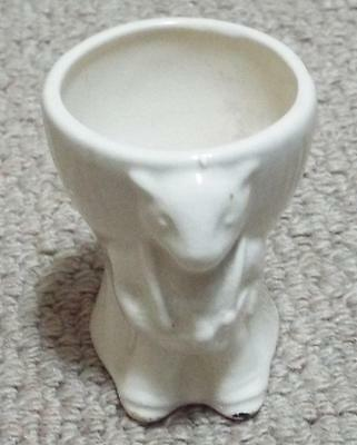 VINTAGE SOOTY CERAMIC EGG CUP - KEELE STREET POTTERY (c)