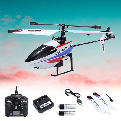 2.4G 4CH WLtoys V911-pro Mini RC Helicopter Gyro Single Blade Remote Control RTF