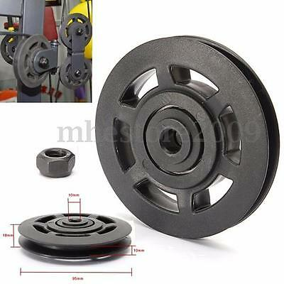 95mm Universal Bearing Pulley Wheel Cable Gym Equipment Part Wearproof Durable