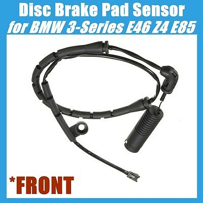 FRONT Disc Brake Pad Sensor For BMW E46 E85 320i 323Ci 323i 325Ci 325i 328i Z4