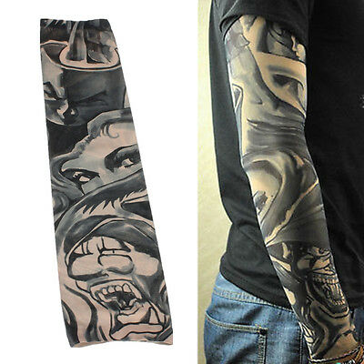 1piece Fake Tattoo Sleeve Temporary Body Arm Stockings Fashion Accessories