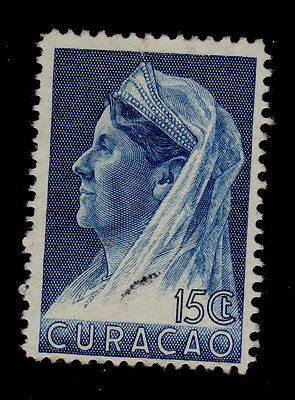 Curacao - Netherlands Antilles   Scott# 135  Used    Royalty Topical