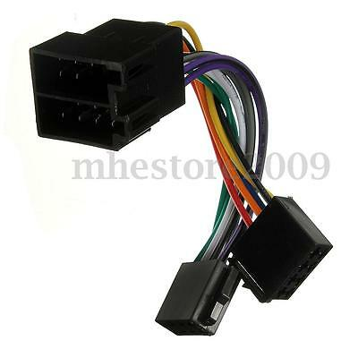 Wire Wiring Harness Stereo Radio Headunit Adaptor For Peugeot 106 206 306 307