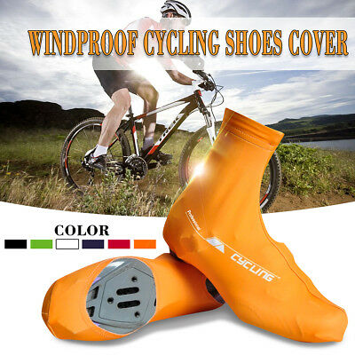 Bicycle Windproof Overshoes Shoe Covers Bike Cycling Zippered Sportwear Protect
