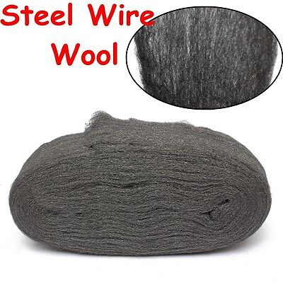 Steel Wire Wool Grade 0000 3.3m For Polishing Cleaning Remover Non Crumble New