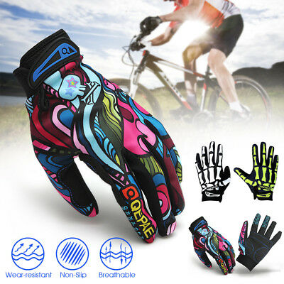Warm Winter Windproof Cycling Bike Bicycle MTB Motorcycle Full Finger Gloves