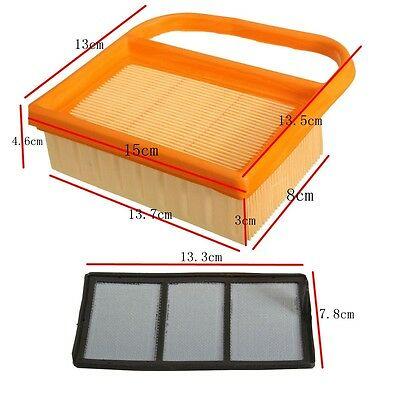 Lawn Mower Air Filter Set For Stihl TS410 TS420 4238 140 4402 Handheld - Cut-Off