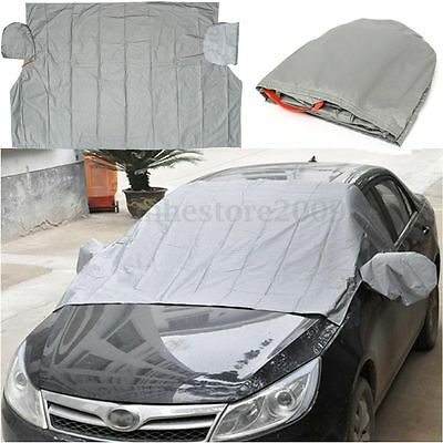 Magnetic Car Windshield Cover Sun Snow Frost Ice Cotton Window Mirror Protector