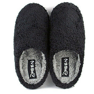 Mens Indoor Slippers Warm Winter Slipper Casual Home House Shoes Soft Plush