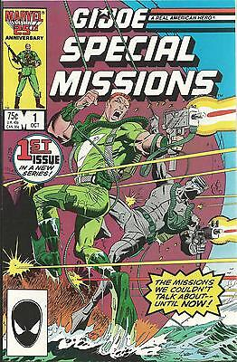 G.i.joe: A Real American Hero: Special Missions #1 (Marvel) (1986)