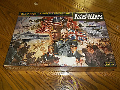 AXIS & ALLIES 1942 Second Edition!  A WWII Strategy Game! New + Still Sealed!!