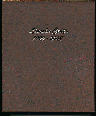 Dansco Coin Album 7100 Lincoln Cents 1909-2009 Without Proofs