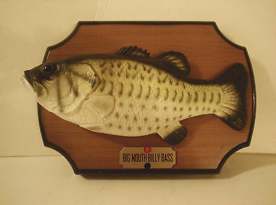 Billy Bass Singing Fish Gemmy Corp 1999 Collectible