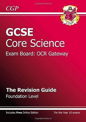 GCSE Core Science OCR Gateway Revision Guide - Foundation By  Richard Parsons