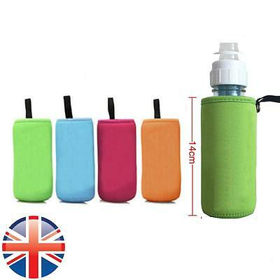 *UK Seller* Baby Insulated Bottle Keep Warmer Carrier Bag Pouch Link on Buggy