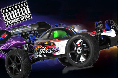 HSP 1:8 Scale 2.4Ghz .28cxp RTR Nitro Radio Control 4WD RC Buggy Pro Series