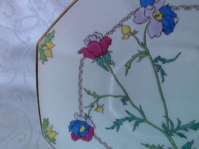Royal Doulton, vintage Art Deco ANEMONE, Cake Plate or Serving Plate