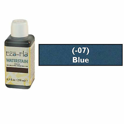 Eco-Flo Professional Waterstain Blue 250 ml (8.5 fl oz.) Blended Natural Waxes