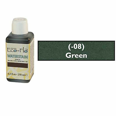 Eco-Flo Professional Waterstain Green 250 ml (8.5 fl oz.) Blended Natural Waxes