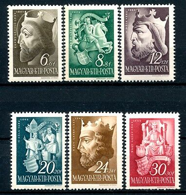 No: 40054 - HUNGARY - LOT OF 6 OLD STAMPS - MNH!!