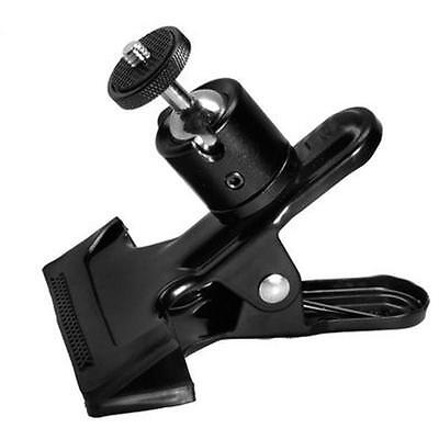 Hot Practical Tripod Camera Clip Clamp Flash Reflector Holder Mount for Studio W