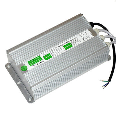 AC TO DC12V 200W  Waterproof Electronic  Power Supply Driver Transformer For LED