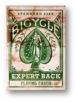 Bicycle Expert - Green Poker Spielkarten