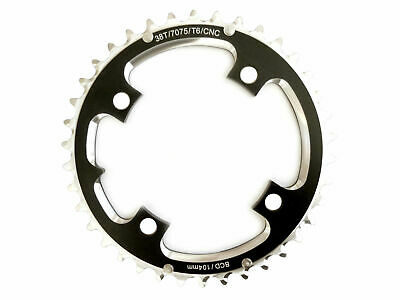 Chainring MTB 104BCD x 38T CNC Outer for Shimano 2 x 10 Shun