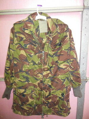 1Z British UK Military Issue ARMY COMBAT SMOCK Camo Jacket Lot A