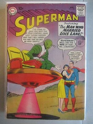 Superman Vol. 1 (1939-2011) #136 VG+ (Cover Detached)