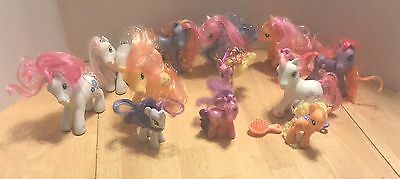 Lot 12 My Little Pony Ponies Hasbro G3 Large & Small Generation 3