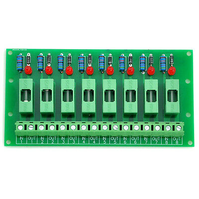 8 Channel Fuse Board, with Fuse Fail Indication, for 100~250VAC.