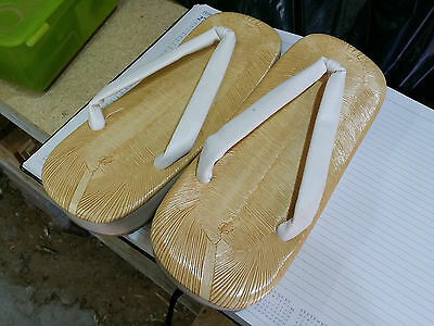 Japanese Sumo Traditional Sandals Small Size 10X25Cm Handmade