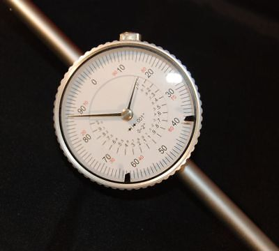 """Long Travel Dial Gauge DTi Dial Test Indicator 0-2""""  x 0.001"""" From Chronos"""