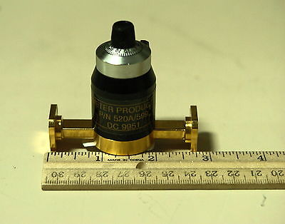 Alpha / TRG 520A / MI-Wave WR28 Waveguide Variable Attenuator